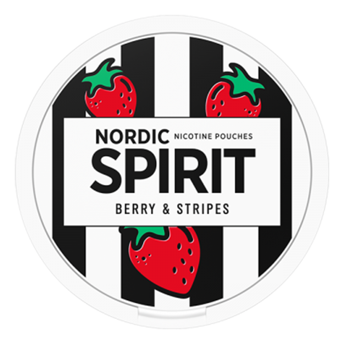 Berry and stripes snus